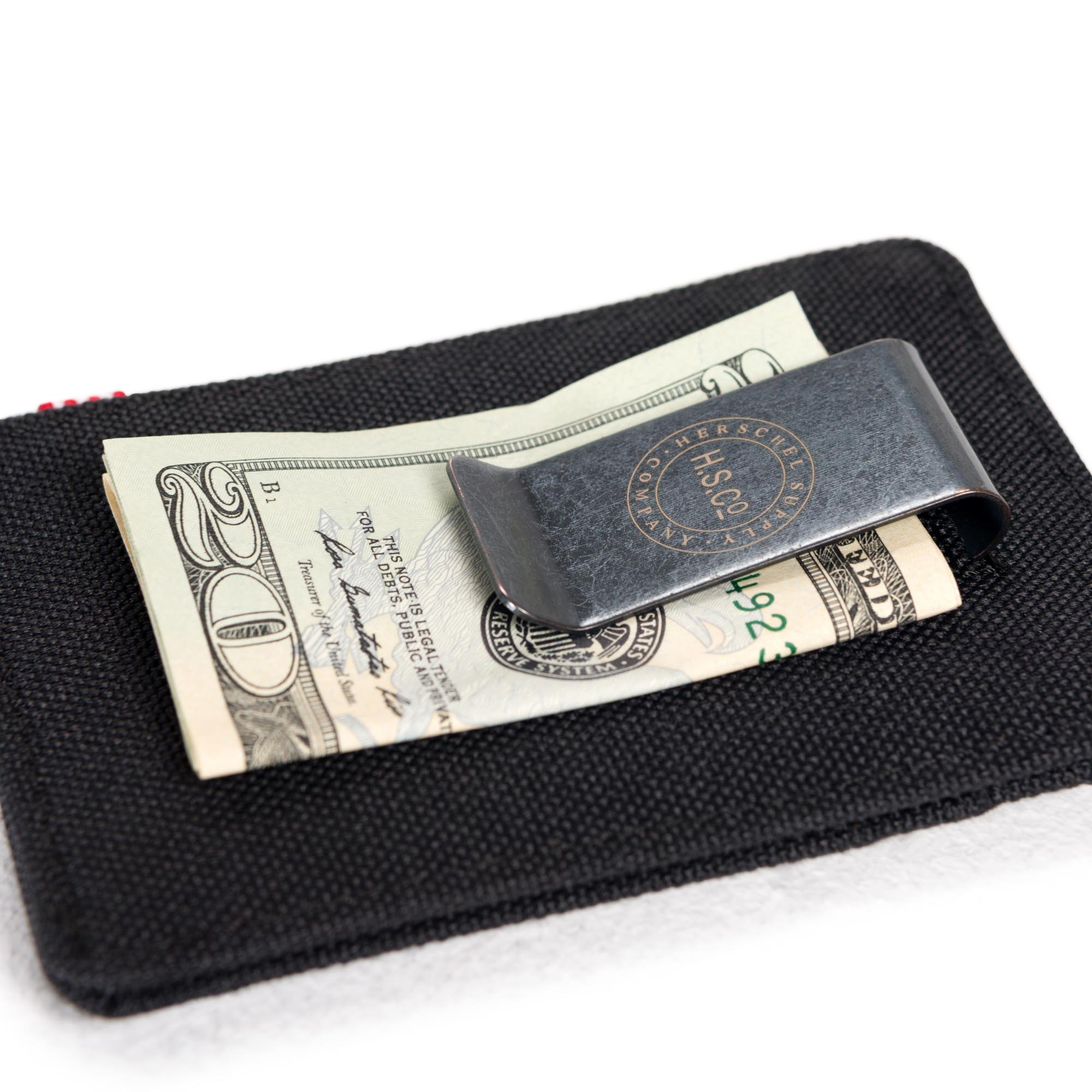 NEW Steel Slim Money Clip Double Sided Credit Card Holder Wallet HS